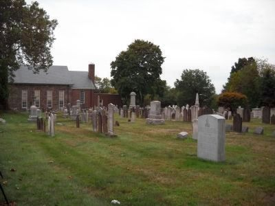Connecticut Farms Presbyterian Church Cemetery image. Click for full size.