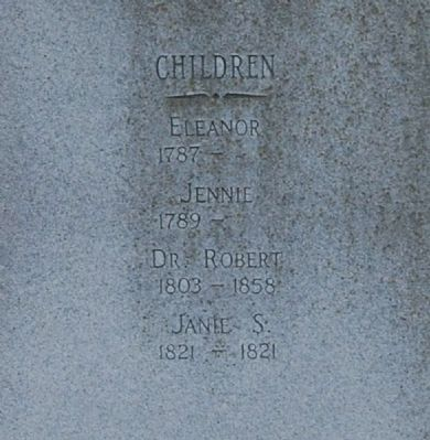 David Greer, Sr. Marker -<br>South Inscription image. Click for full size.