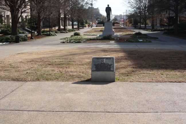 Richardson Square and Marker image. Click for full size.