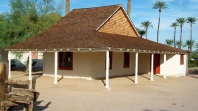 Adobe House image. Click for full size.