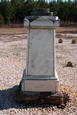 General Richard Richardson Grave at Rimini, S.C. image. Click for full size.