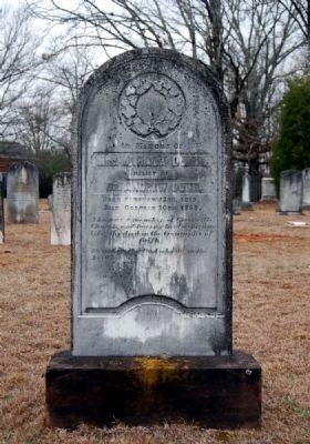 Mahala Dunn Tombstone image. Click for full size.