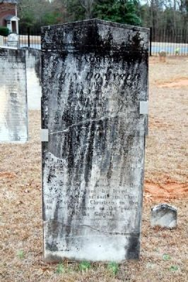 John Donnald Tombstone<br>Carved by W.T. White image. Click for full size.