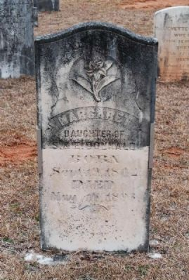Margaret Donnald Tombstone image. Click for full size.