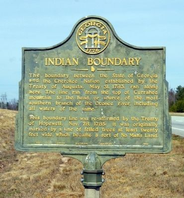 Indian Boundary Marker image. Click for full size.