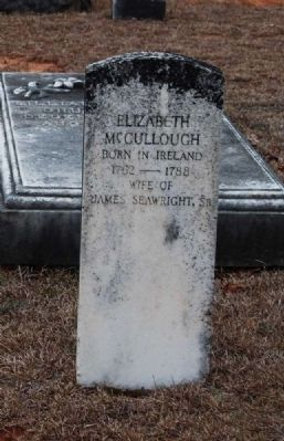 Elizabeth McCullough Tombstone image. Click for full size.