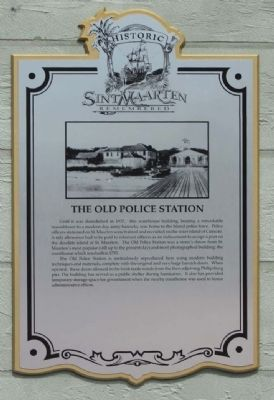 The Old Police Station Marker image. Click for full size.