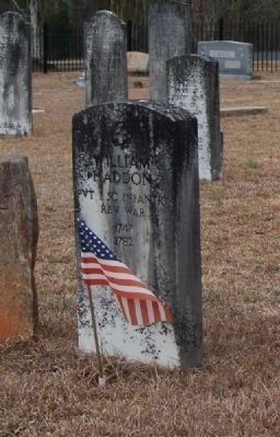 William Haddon Tombstone image. Click for full size.
