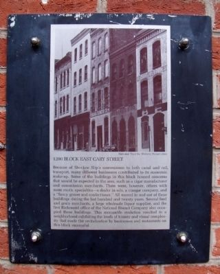 1200 Block East Cary Street Marker image. Click for full size.