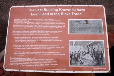 Davenport Trading Company Marker image. Click for full size.