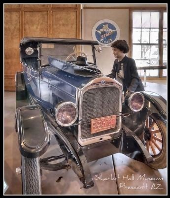Display at the Sharlot Hall Museum image. Click for full size.
