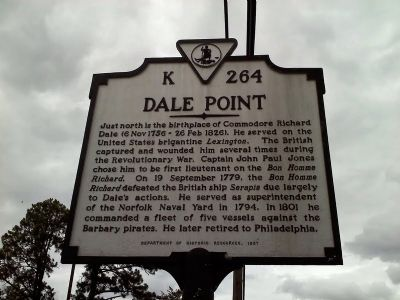 Dale Point Marker image. Click for full size.