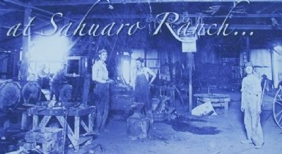 Photo on Blacksmith and Machine Shop Marker image. Click for full size.