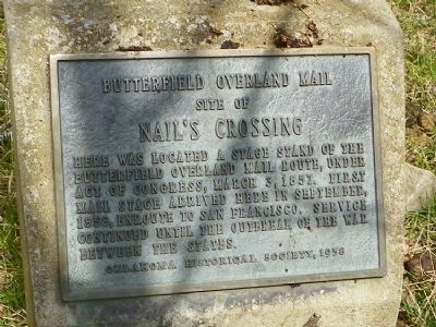 Nail's Crossing Marker image. Click for full size.