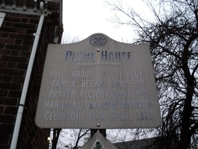 Plume House Marker image. Click for full size.