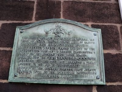 House of John Plume Marker image. Click for full size.