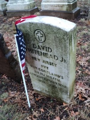Grave of David Whitehead, Jr. image. Click for full size.