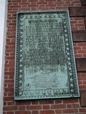 Elizabeth Presbyterian Church Marker image. Click for full size.