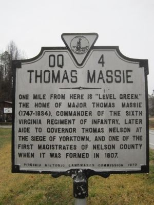 Thomas Massie Marker image. Click for full size.