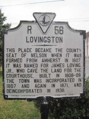 Lovingston Marker image. Click for full size.
