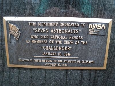 Seven Astronauts Marker image. Click for full size.
