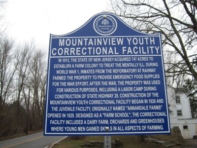 Mountainview Youth Correctional Facility Marker image. Click for full size.