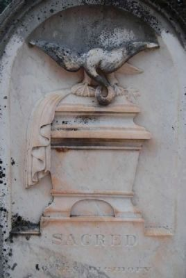 Alexander McDuffie Reid Tombstone -<br>Artwork Detail image. Click for full size.