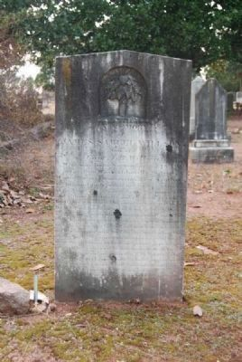 Pvt. James Samuel Wilson<br>Tombstone image. Click for full size.