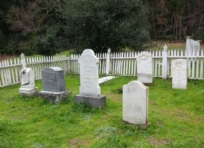 The White Church Cemetery image. Click for full size.