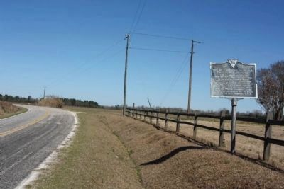 Rev. John Leighton Wilson, D.D. Marker, looking north along Nancy Branch Road. image. Click for full size.
