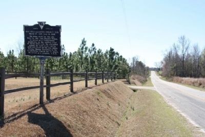 Rev. John Leighton Wilson, D.D. Marker, looking south image. Click for full size.