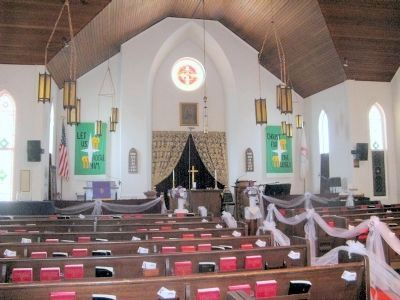 Interior of the McTyeire Memorial Church image. Click for full size.