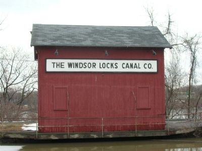 Windsor Locks Canal image. Click for full size.