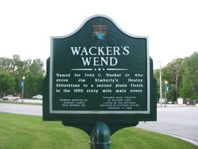 Wacker's Wend Marker image. Click for full size.