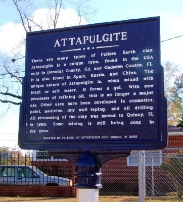 Attapulgite Marker (Side 1) image. Click for full size.