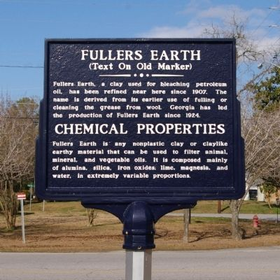 Fullers Earth Marker (Side 2) image. Click for full size.