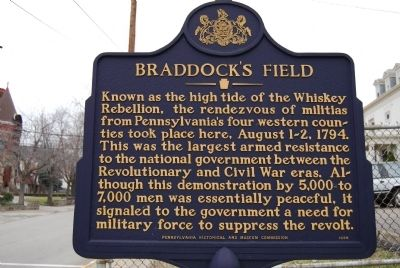 Braddock's Field Marker image. Click for full size.
