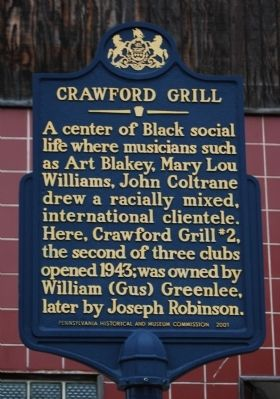 Crawford Grill Marker image. Click for full size.