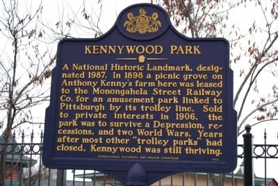 Kennywood Park Marker image. Click for full size.