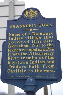 Shannopin Town Marker image. Click for full size.