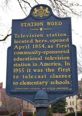 Station WQED Marker image. Click for full size.