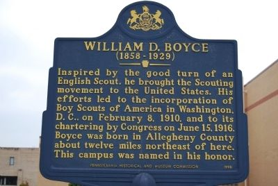 William D. Boyce Marker image. Click for full size.