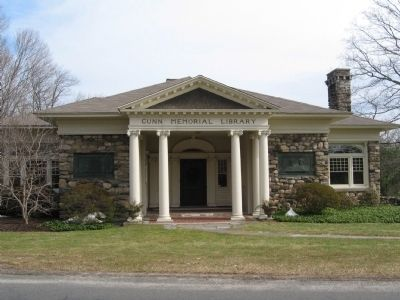 Gunn Memorial Library image. Click for full size.