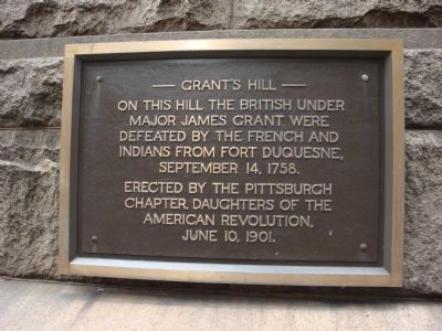 Grant's Hill Marker image. Click for full size.