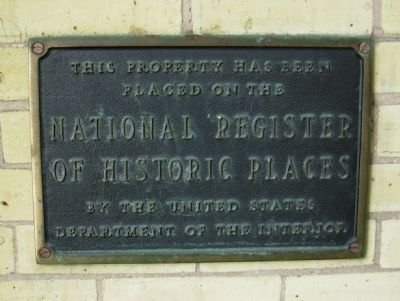 Turner Hall National Register of Historic Places Marker image. Click for full size.
