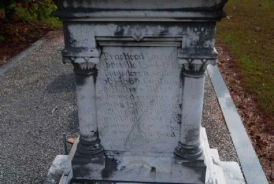 U.S. Rep. James Sproull Cothran<br>Tombstone - West Facing image. Click for full size.