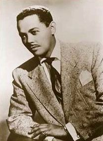 Popular American baritone Billy Eckstine image. Click for full size.