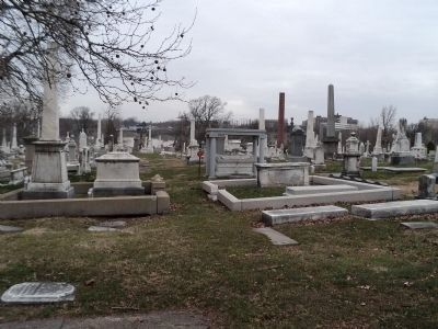 More Graves & Monuments at Laurel Hill Cemetery image. Click for full size.