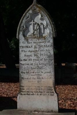 Thomas H. Donlon's Grave Marker image. Click for full size.