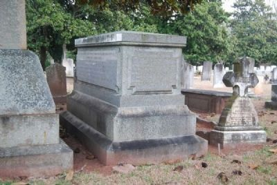 Gen. Samuel McGowan Tombstone image. Click for full size.